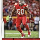2016 Score Football Card #167 Justin Houston