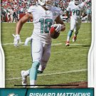 2016 Score Football Card #173 Rashard Matthews