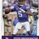 2016 Score Football Card #179 Teddy Bridgewater
