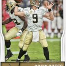 2016 Score Football Card #199 Drew Brees