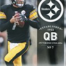 2012 Prestige Football Card #150 Ben Roethlisberger