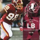 2012 Prestige Football Card #196 Brian Orakpo