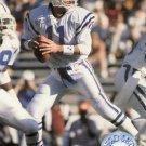 1991 Pro Set Platinum Football Card #45 Jeff George
