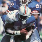 1991 Pro Set Platinum Football Card #82 Pepper Johnson