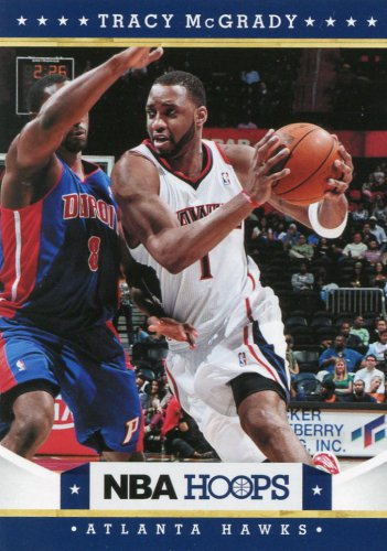 2012 Hoops Basketball Card #152 Tracy McGrady