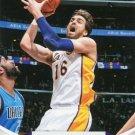 2012 Hoops Basketball Card #200 Pau Gasol