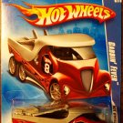 2009 Hot Wheels #73 Cabbin Fever MAROON