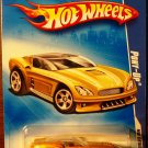 2009 Hot Wheels #104 Pony Up YELLOW