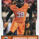 2016 Score Football Card #400 Emmanuel Ogbah