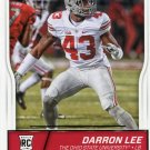 2016 Score Football Card #406 Darron Lee