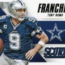 2015 Score Football Card Franchise #5 Tony Romo