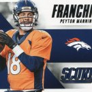 2015 Score Football Card Franchise #6 Peyton Manning