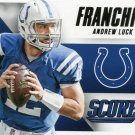 2015 Score Football Card Franchise #15 Andrew Luck