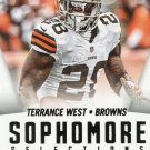 2015 Score Football Card Sophmore Selections #1 Terrence West