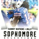 2015 Score Football Card Sophmore Selections #8 Sammie Watkins
