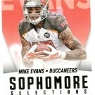 2015 Score Football Card Sophmore Selections #10 Mike Evans