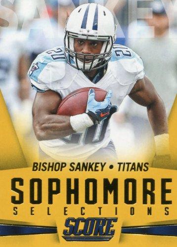 2015 Score Football Card Sophomore Selections Gold #4 Bishop Shankey