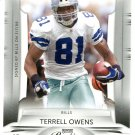 2009 Playoff Prestige Football Card #28 Terrell Owens