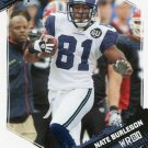 2009 Score Football Card #261 Nate Burleson