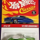 2007 Hot Wheels Classic Series 3 #5 40 Ford Convertible