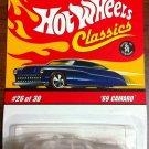 2007 Hot Wheels Classic Series 3 #26 69 Camaro ORANGE