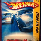 2008 Hot Wheels #4 Ratbomb RED