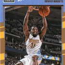 2016 Donruss Basketball Card #86 Kenneth Faried