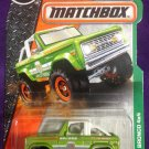 2017 Matchbox #118 Ford Bronco 4x4