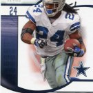 2009 SP Signature Football Card #9 Marion Barber III