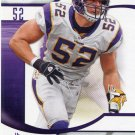 2009 SP Signature Football Card #71 Chad Greenway