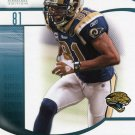 2009 SP Signature Football Card #87 Torry Holt