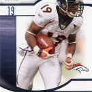 2009 SP Signature Football Card #152 Eddie Royal