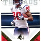 2009 SP Threads Football Card #3 Andre Johnson