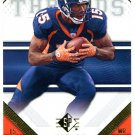 2009 SP Threads Football Card #11 Brandon Marshall