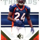 2009 SP Threads Football Card #19 Champ Bailey