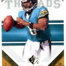 2009 SP Threads Football Card #25 David Garrard