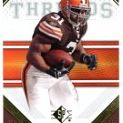 2009 SP Threads Football Card #41 Jamal Lewis
