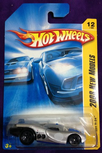 2008 Hot Wheels #12 Prototype H24 SILVER