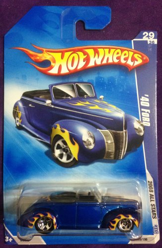 2008 Hot Wheels #69 40 Ford
