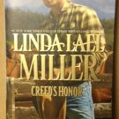 Creed's Honor by Linda Lael Miller, Used Paperback Book Fiction