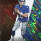 2016 Absolute Football Card Red Zone #13 Eli Manning