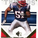 2009 SP Threads Football Card #48 Jerod Mayo