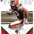 2009 SP Threads Football Card #55 Kellen Winslow Jr