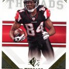 2009 SP Threads Football Card #82 Roddy White