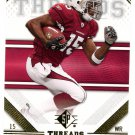 2009 SP Threads Football Card #86 Steve Breaston