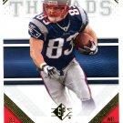 2009 SP Threads Football Card #98 Wes Welker