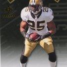 2009 SP Threads Football Card SP Superstar #25 Reggie Bush