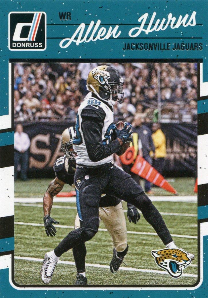 2016 Donruss Football Card #138 Allen Hurns