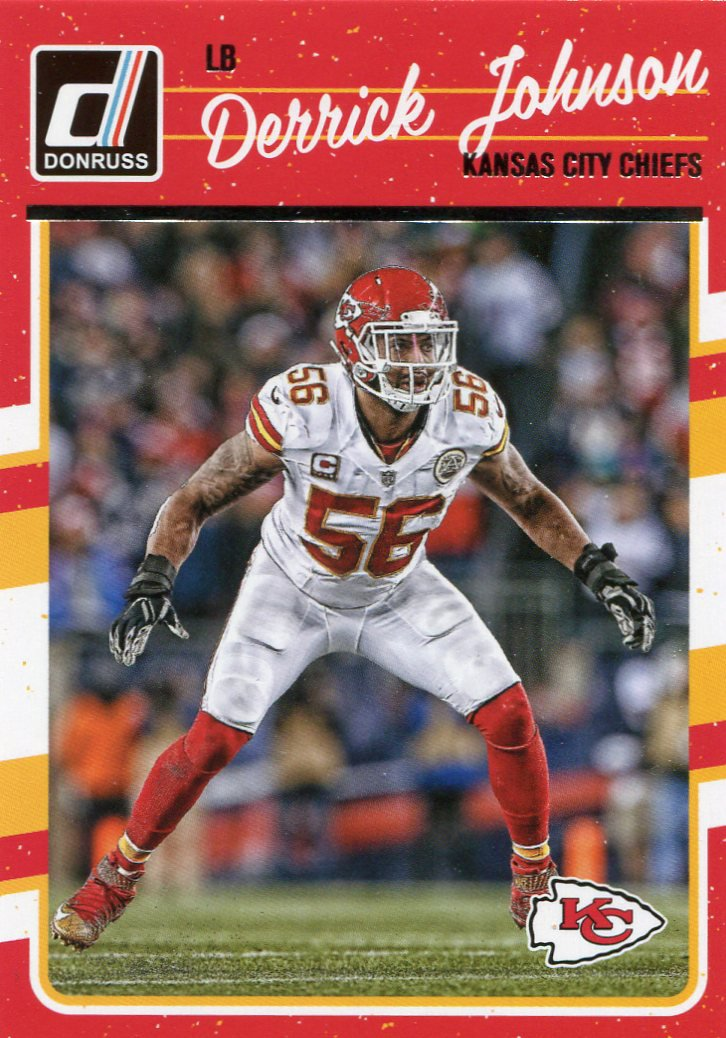 2016 Donruss Football Card #148 Derrick Johnson