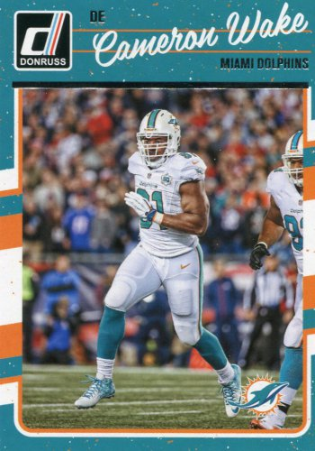 2016 Donruss Football Card #169 Cameron Wake